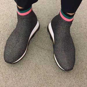 Nwt Loeffler Randall Scout Knit Sock